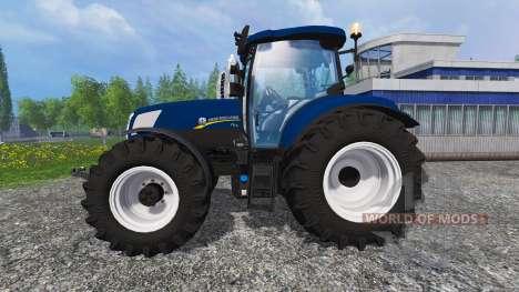 New Holland T7.270 blue power для Farming Simulator 2015