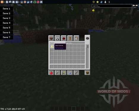 Glowstone Wire для Minecraft