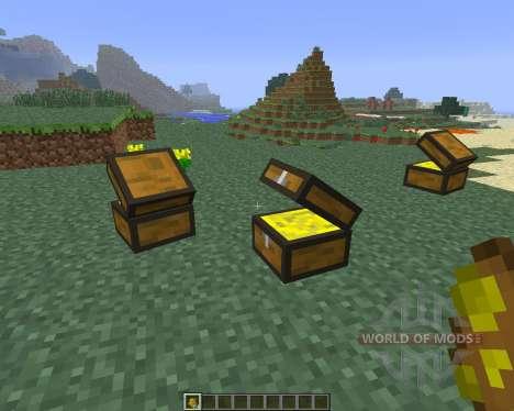 Treasure Chest [1.6.4] для Minecraft