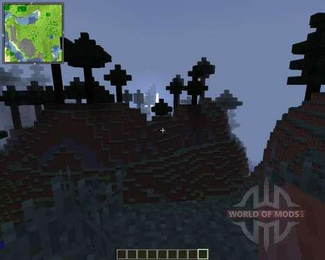 Xaeros Minimap [1.8] для Minecraft