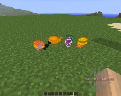Lots of Food [1.6.4] для Minecraft