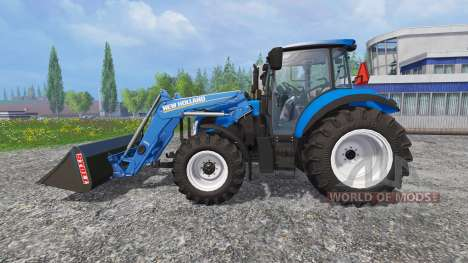 New Holland T5.115 FrontLoader для Farming Simulator 2015