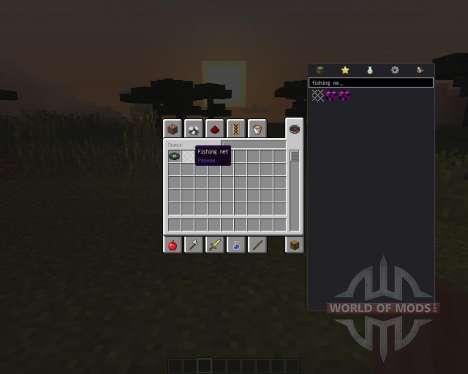 Fishing Net для Minecraft