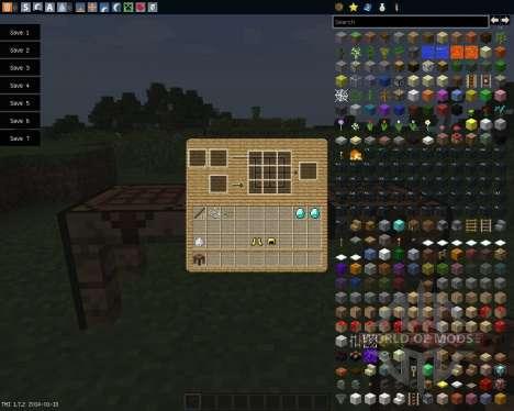 Noted Items [1.7.2] для Minecraft