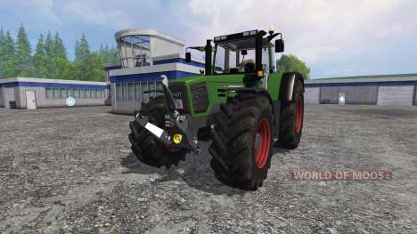 Fendt Favorit 824 Turboshift Full для Farming Simulator 2015