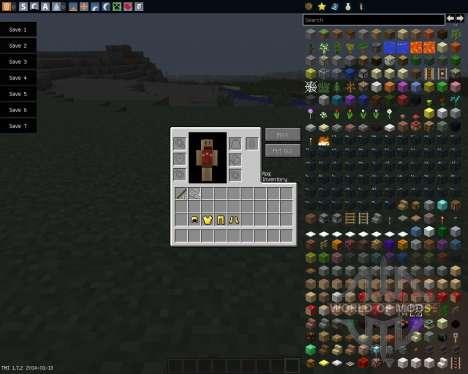Rpg Inventory [1.7.2] для Minecraft