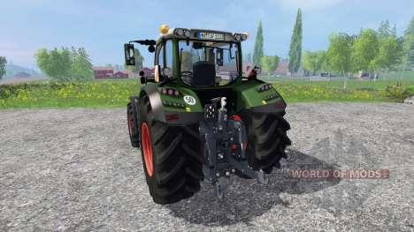 Fendt 718 Vario v4.0 для Farming Simulator 2015