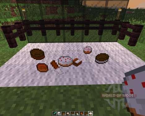 Pastries [1.7.10] для Minecraft