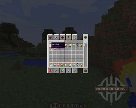 Touhou Alices Doll [1.7.2] для Minecraft