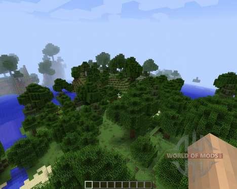 Better World Generation 4 [1.7.2] для Minecraft