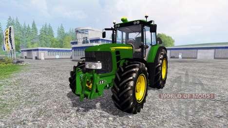 John Deere 6930 Premium FL v2.0 для Farming Simulator 2015