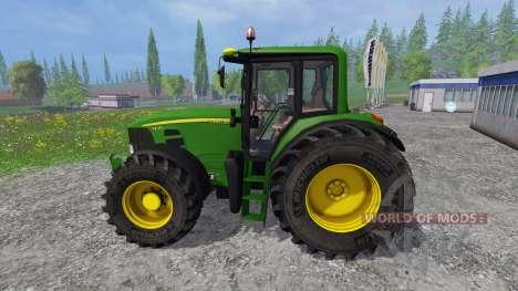 John Deere 7430 Premium v1.1 для Farming Simulator 2015