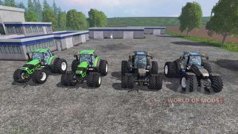 Deutz-Fahr Agrotron 7250 Dynamic8 v1.3 [pack] для Farming Simulator 2015