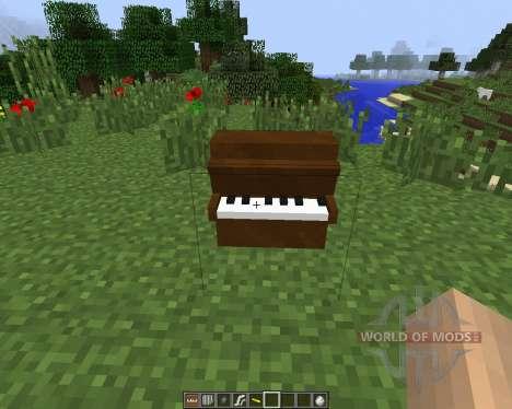 MusicCraft [1.7.2] для Minecraft