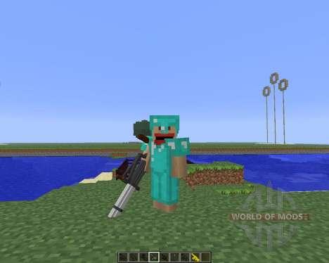 3D Gun [1.5.2] для Minecraft