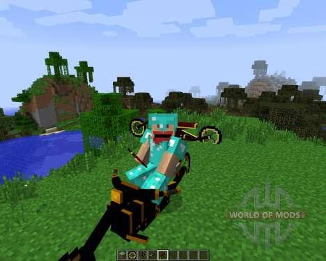 Steam Bikes [1.7.2] для Minecraft
