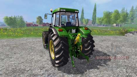 John Deere 7810 v2.0 [washable] для Farming Simulator 2015