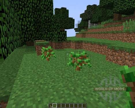 Auto Sapling [1.8] для Minecraft