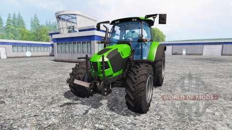 Deutz-Fahr 5120 TTV v2.0 для Farming Simulator 2015