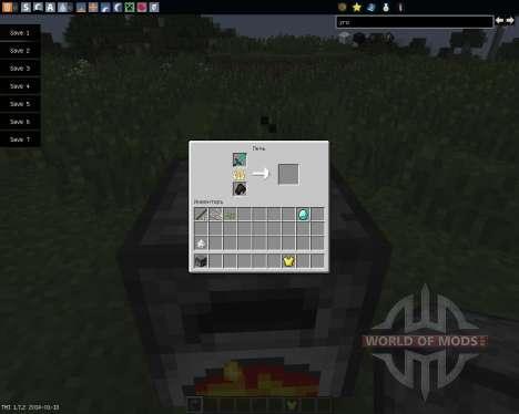 Armor Smelter [1.7.2] для Minecraft
