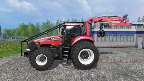 Case IH Magnum CVX 380 FL Forest v3.2 для Farming Simulator 2015