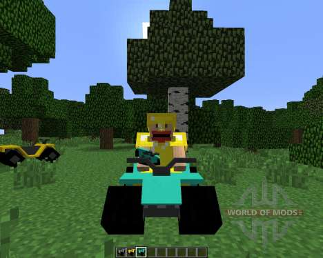All-terrain Vehicle (ATV) [1.6.4] для Minecraft