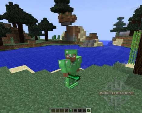 Emerald and Obsidian Tools [1.8] для Minecraft