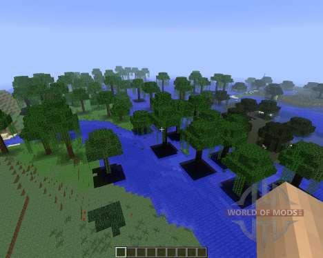 ExtrabiomesXL [1.5.2] для Minecraft