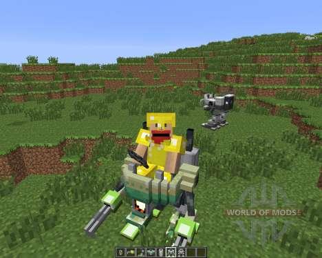 Magitek Mechs [1.6.4] для Minecraft