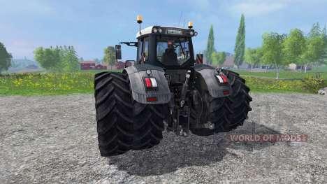 Fendt 936 Vario Black Beauty для Farming Simulator 2015