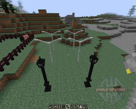 Lamps And Traffic Lights [1.7.2] для Minecraft