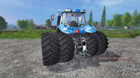New Holland T8.320 Dynamic8 v1.1 blue для Farming Simulator 2015