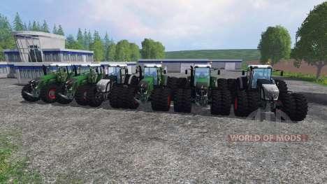Fendt 936 Vario v1.3 для Farming Simulator 2015