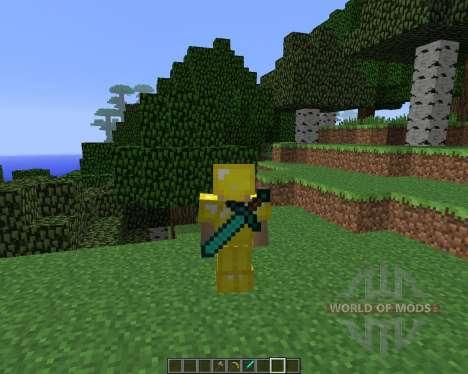 Back Tools [1.5.2] для Minecraft