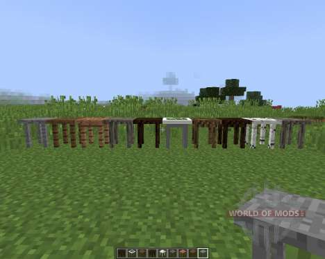 Fancy Tables для Minecraft