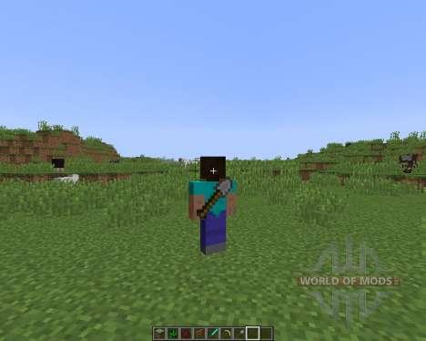 Back Tools [1.8] для Minecraft