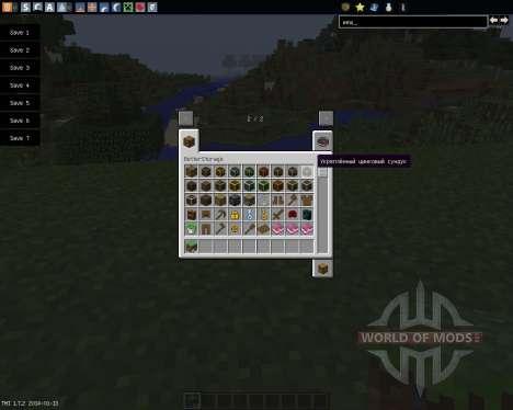 Better Storage [1.7.2] для Minecraft