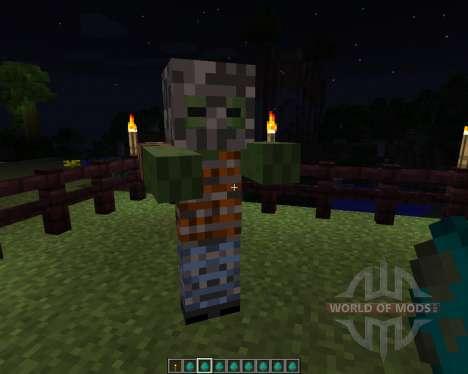 Mo Zombies [1.7.2] для Minecraft