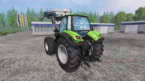 Deutz-Fahr Agrotron 7250 FL v3.0 для Farming Simulator 2015