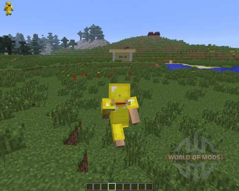 Character On GUI [1.6.4] для Minecraft
