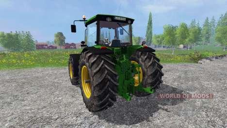 John Deere 8530 v2.0 fixed для Farming Simulator 2015