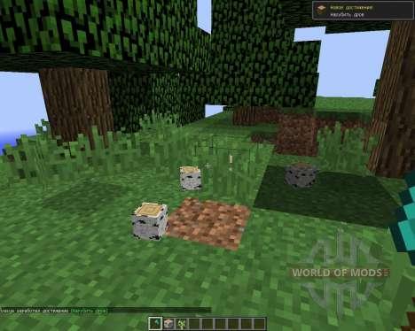 TreeCapitator для Minecraft