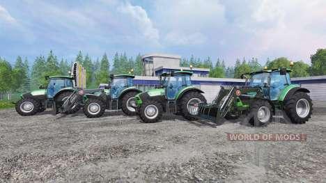Deutz-Fahr 5110 TTV and 5130 TTV для Farming Simulator 2015