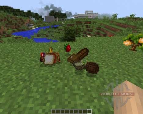 HarvestCraft [1.7.2] для Minecraft