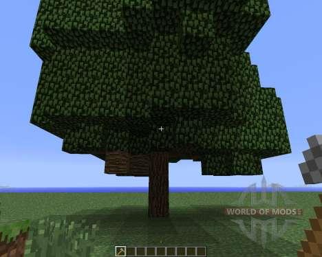 Whole Tree Axe [1.5.2] для Minecraft