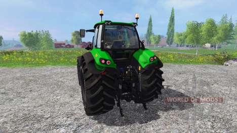 Deutz-Fahr Agratron 7250 The Beast для Farming Simulator 2015