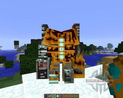 Crazy Pumpkin Mobs [1.6.4] для Minecraft