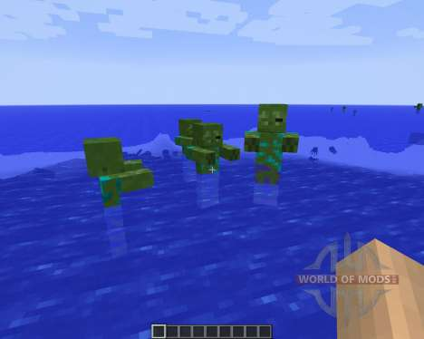 Ocean Adventures [1.7.2] для Minecraft