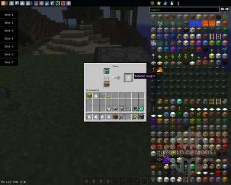 Recycle Items Plus [1.7.2] для Minecraft