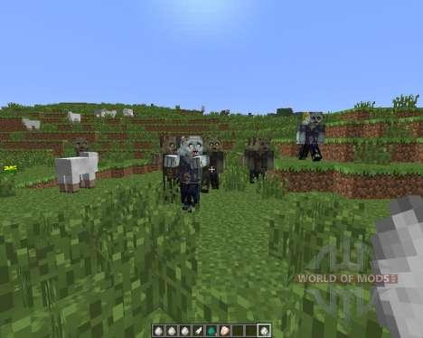 Walking Dead [1.6.4] для Minecraft